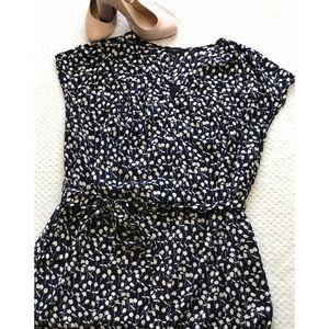 Size 16W Talbots CapSleeve Multi Print Shirt Dress